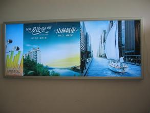郑州画框型材:广告新万博苹果下载效果选择非常的重要